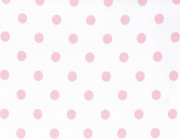 White Pink Candy Dots